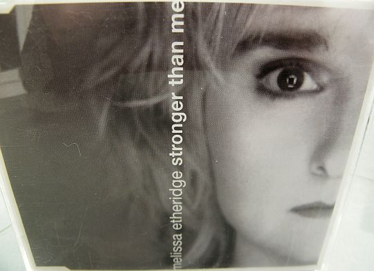 recto du CD monotitre promotionnel de Melissa Etheridge - Stronger than me