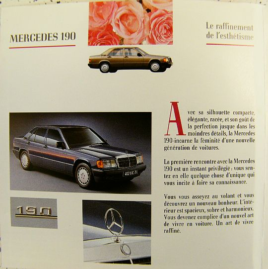 livret collector promo Mercedes Benz 2
