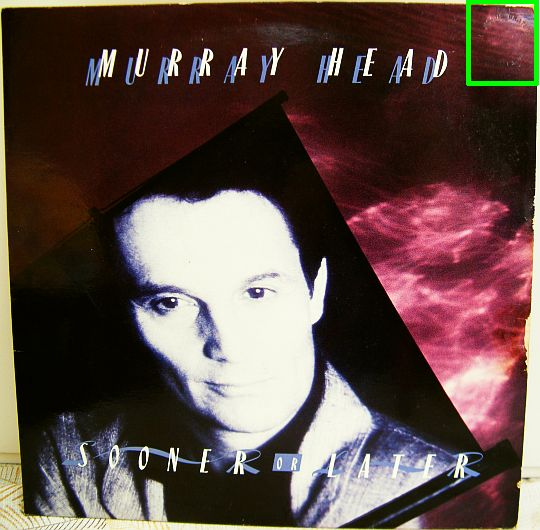 recto du 33 tours promo Collector de Murray Head - Sooner or later