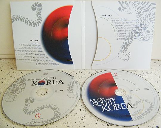 double CD promo Music from South Korea 2010