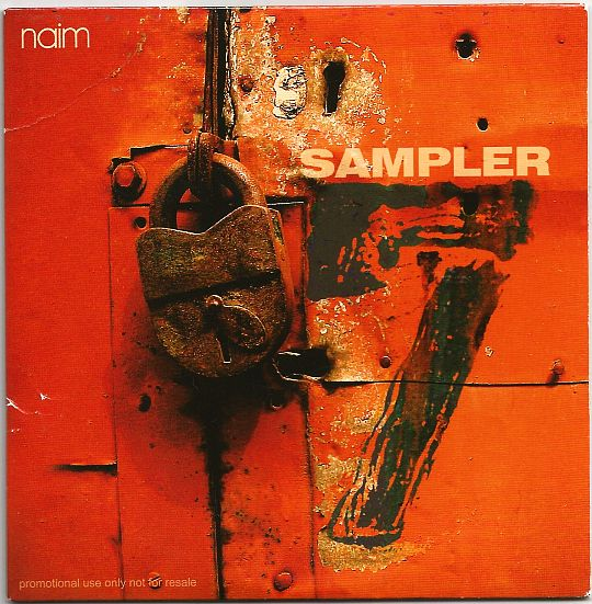 recto du CD Collector promo NAIM - sampler 7