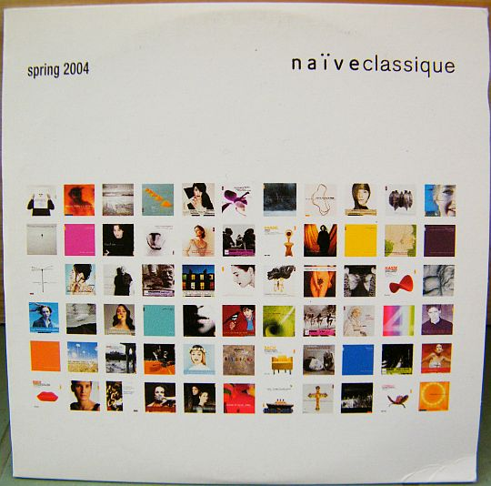recto du CD sampler Collector promo Naïve Classique spring (printemps) 2004