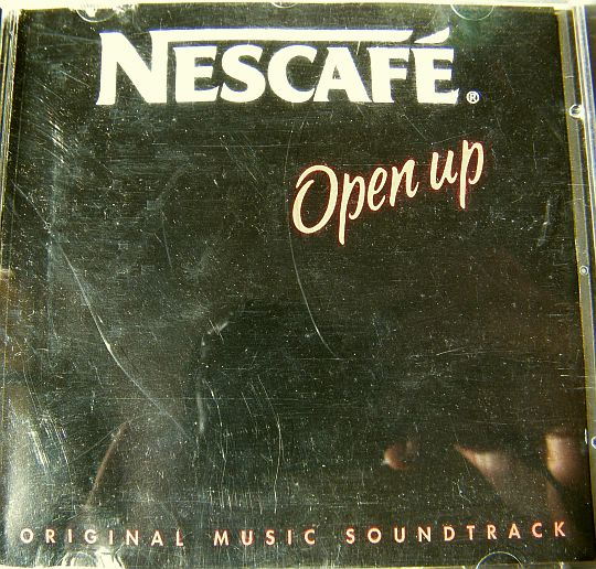 recto du CD single Collector Nescafé - Open up