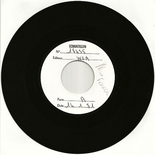 45 tours Collector White Label de Nino Ferrer - La Carmencita