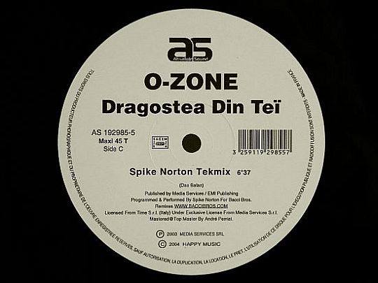 face C d'O-Zone - Dragostea din tei remix