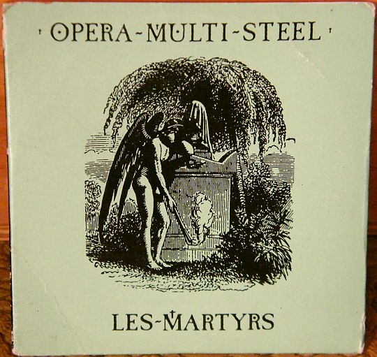 recto du mini CD Collector promo Les martyrs par Opéra Multi Steel