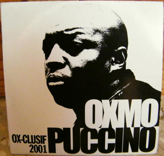 recto du maxi CD Collector promo OX-clusif 2001 d'Oxmo Puccino
