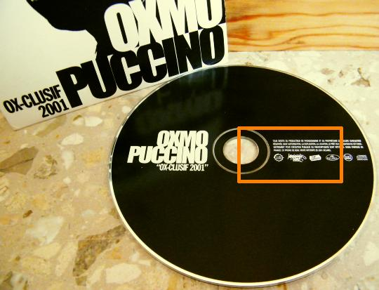 maxi CD Collector promo advance 8 titres d'Oxmo Puccino - OX-clusif 2001 dans POESIE-SONORE.COM