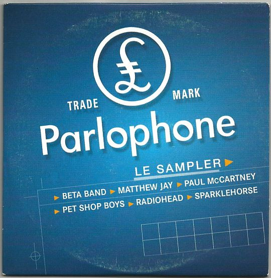 recto du CD sampler Collector hors commerce Parlophone des Inrockuptibles