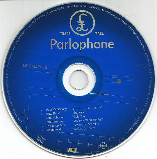 CD sampler promo hors commerce Parlophone Inrockuptibles