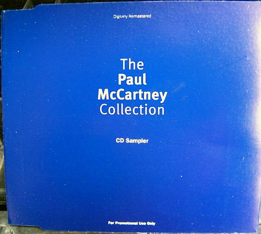 recto du sampler collector promo de MacCartney - Collection