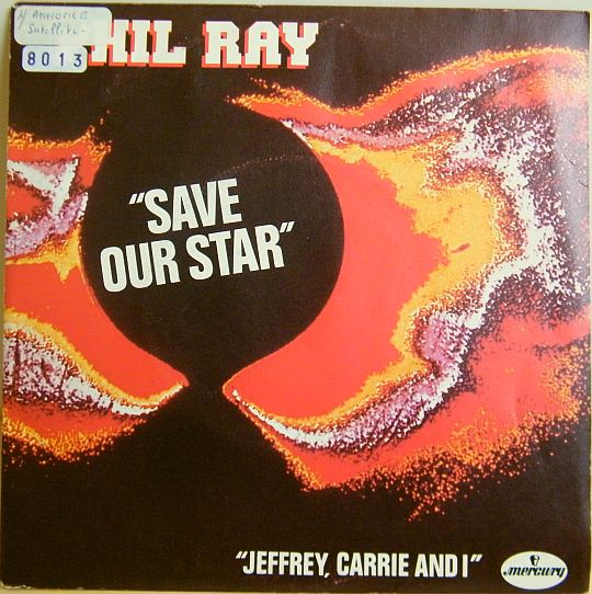 recto du 45 tours promotionnel Collector de Phil Ray - Save our star