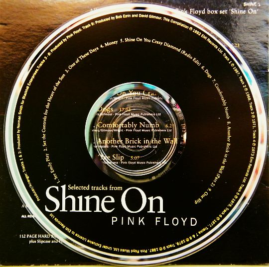 CD collector Pink Floyd - Shine On