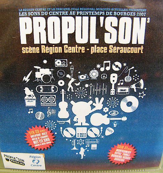 compilation promo Collector Propul'Son pour le Printemps de Bourges 2007