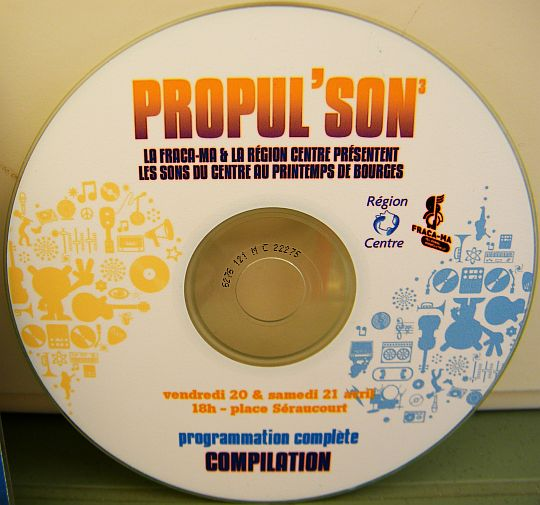 disque compact promotionnel Collector Propul'Son n° 3