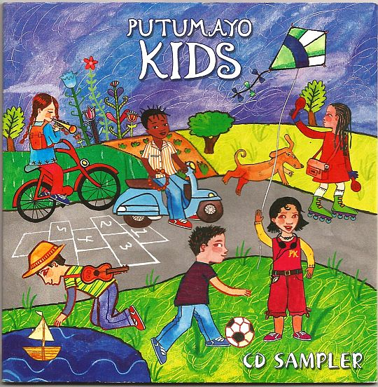 recto du sampler promotionnel FNAC Putumayo Kids
