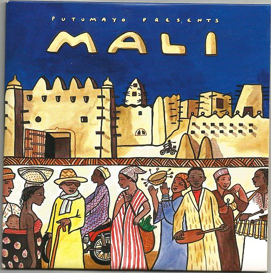 recto du sampler promotionnel Putumayo - Mali