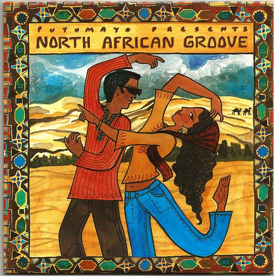 recto du sampler promotionnel Putumayo - North african groove