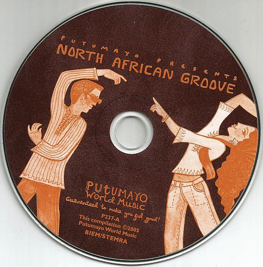 CD sampler promo Putumayo - North African groove