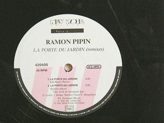 Ramon pipin la porte du jardin en maxi 45 tours promo collector 3 titres dans poesie sonore - La boutique du jardin ...