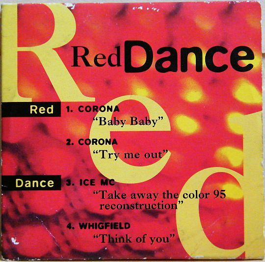 recto du mini-CD sampler promo Red Dance