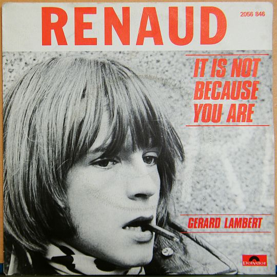 recto du 45 tours promotionnel vente interdite de Renaud - It is not because you a-are Collector