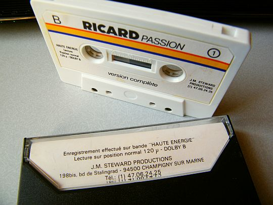 cassette collector RICARD PASSION n°1 avec Alain Chabat