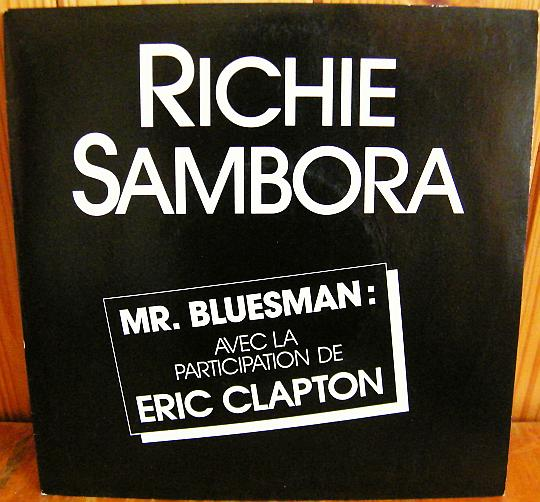 recto du 45 tours promotionnel Collector hors commerce de Richie Sambora - Mister bluesman
