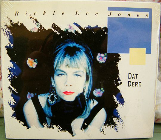 recto du CD collector monotitre neuf de Rickie Lee Jones - Dat dere