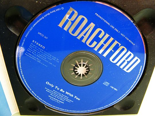 rare CD monotitre promo de Roachford - Only to be with you