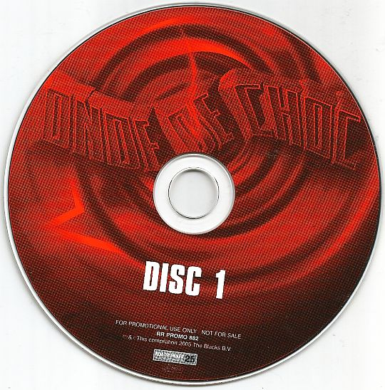 CD sampler promo 1 Onde de choc Roadrunner Records 25