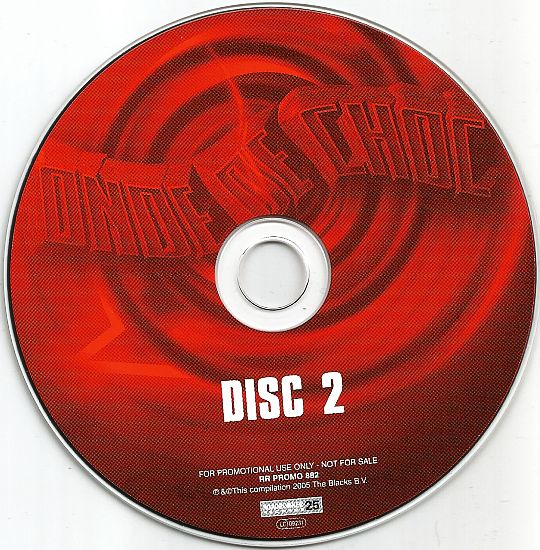 CD sampler 2 Roadrunner Records 25 - Onde de choc