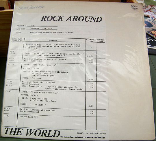 conducteur de l'émission Rock around the world dans POESIE-SONORE.COM