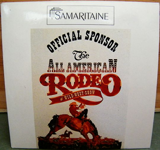 recto du maxi CD sampler collector de la Samaritaine - All American Rodeo