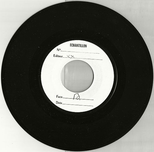 face B du SP Test Pressing WEA de Santa Esmeralda - Don't be shy tonight