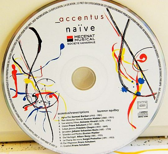CD sampler collector Accentus - Transcriptions