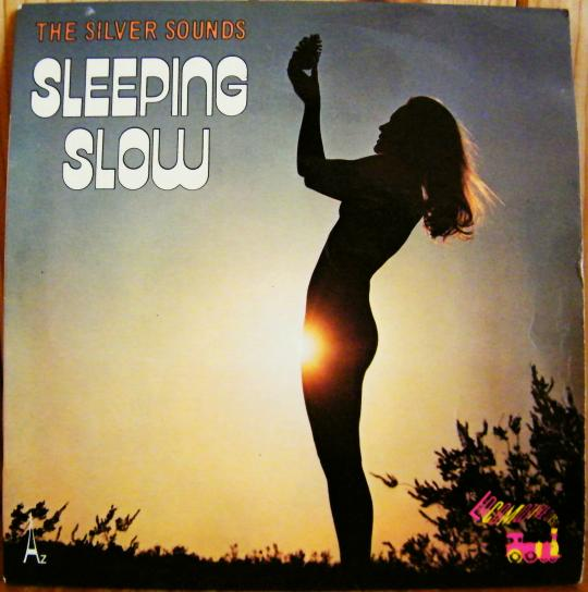 pochette recto sexy des Silver Sounds - Sleeping slow