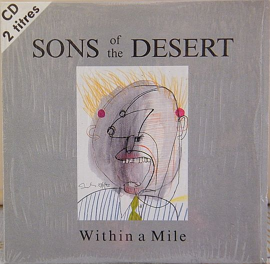 recto du cd promo vente interdite des Sons Of The Desert - Within a mile