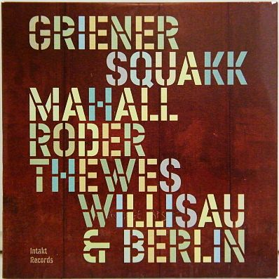 CD promo jazz Squakk - Willisau und Berlin