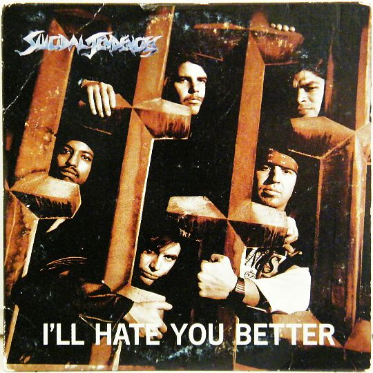 CD promo Suicidal Tendancies - I'll hate you better