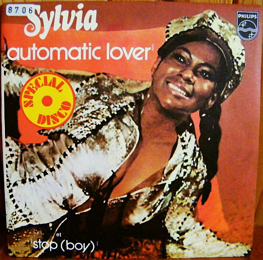 recto du 45 tours Collector de Sylvia Robinson - Automatic lover