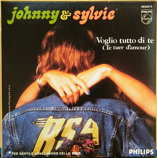 pochette verso Collector du duo Sylvie-Johnny
