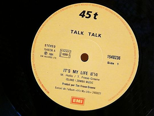 Collector Talk Talk It's my life face A