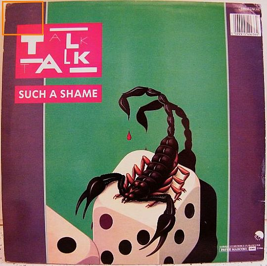 verso pochette Talk Talk - Such a shame Collector