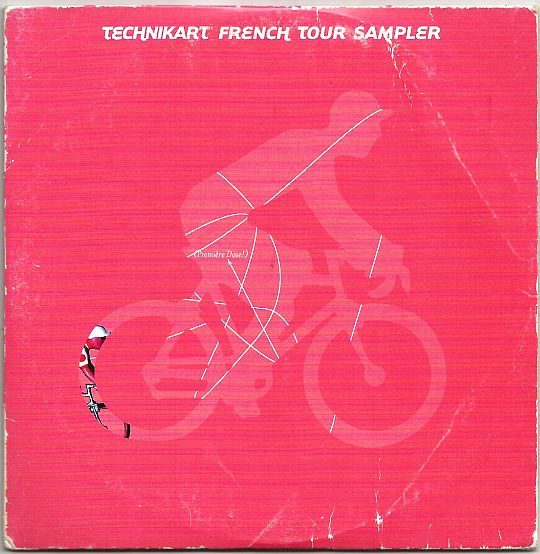 recto du CD sampler Collector promo Technikart french tour