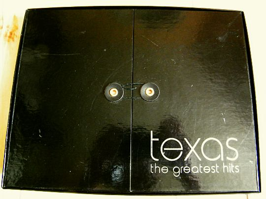 coffret promo Collector Texas - the greatest hits