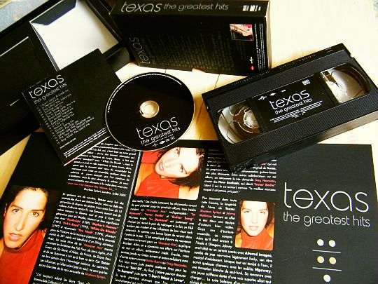 coffret Collector promo TEXAS - Greatest hits