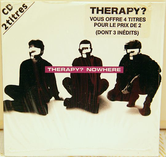 recto du CD sampler 4 titres de Therapy - Nowhere
