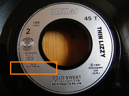 face 2 Cold sweat promo par Thin Lizzy dans POESIE-SONORE.COM