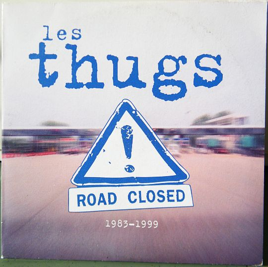 recto du sampler promo des Thugs - Road closed